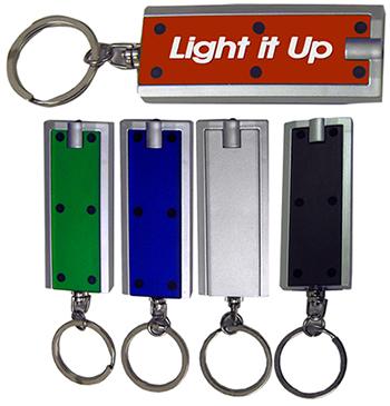 Rectangular LED Keychain