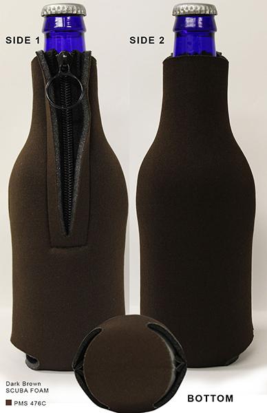 Scuba Zipper Bottle Holder